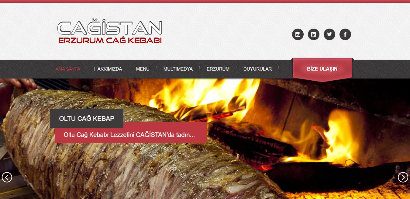 Cağistan Erzurum Cağ Kebabı