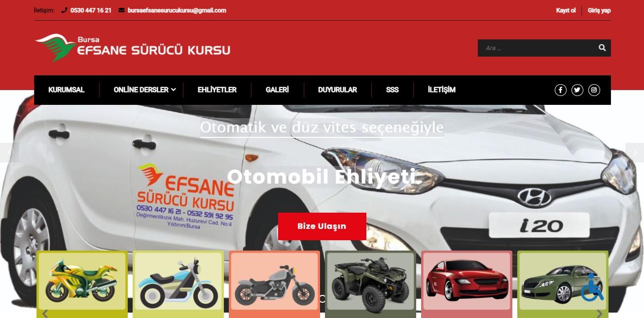 Bursa Efsane Sürücü Kursu