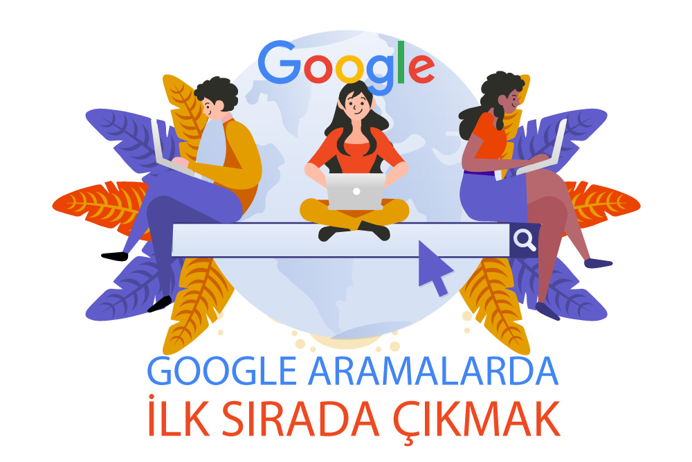 Google'da ilk sırada çıkmak
